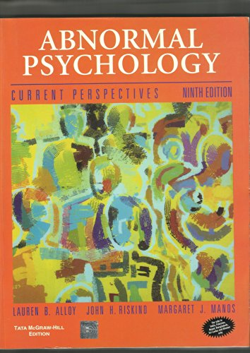 Download Abnormal Psychology Current Perspectives 9th Edition Book