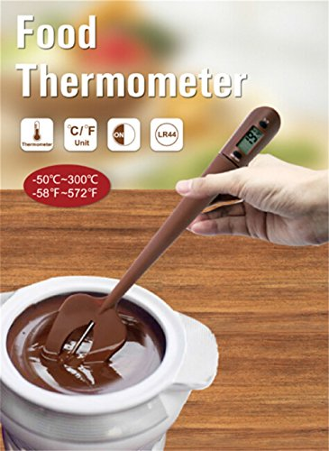LLVV Digital Food Cooking Thermometer Portable Silicone Chocolate Blade High Temperature Electronic Thermometer Thermocouple Baking Measurement by LLVV (Image #5)