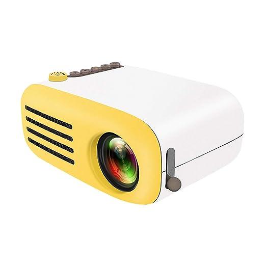 HZYWL Mini Proyector Portátil Proyector De Cine En Casa 1080P ...
