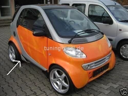 Smart Fortwo Seitenflaps Tuning Auto