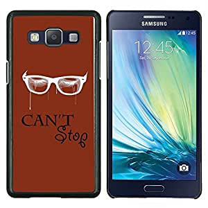LECELL--Funda protectora / Cubierta / Piel For Samsung Galaxy A5 A5000 -- Cant Stop --