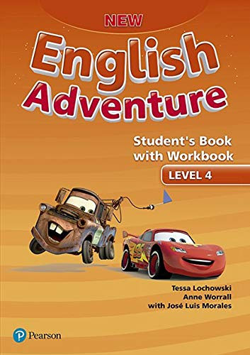 New English Adventure Student's Book Pack Level 4: Student's Book With Workbook