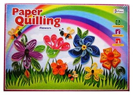 Buy paper quilling flowers online at low prices in india amazon paper quilling flowers mightylinksfo