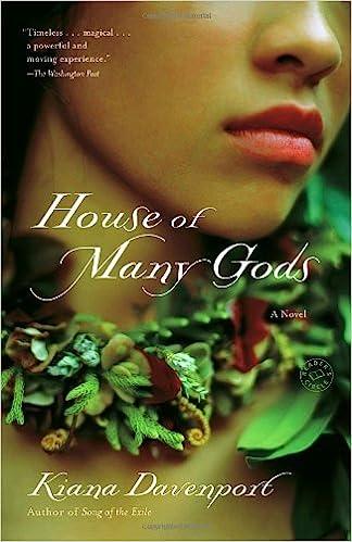House of Many Gods - Kiana Davenport