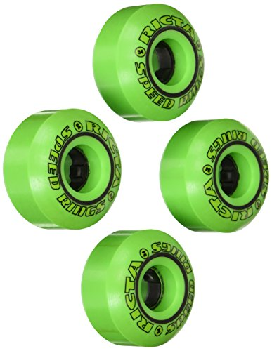 Ricta Speedrings 81B Skateboard Wheels (Green/Black, 54-mm)