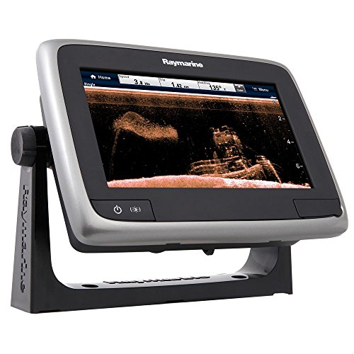 "Raymarine a78 Multifunction Display with CPT-100DVS Transom Mount Transducer & Navionics+, 7"" Fish Finders And Other Electronics Raymarine"