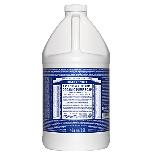 (Dr. Bronner's Organic Sugar Soap - 64 oz. Refill (Peppermint))