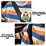 JUSTTOP 2-Pack Universal Car Seat Belt Pads Cover