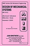 AMIE Design of Mechanical systems MC-421 Solved Paper