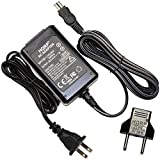 HQRP Replacement AC Adapter / Charger for Sony Mavica MVC-CD1000, MVC-CD200, MVC-CD250, MVC-CD300, MVC-CD350, MVC-CD400 Digital Camera with USA Cord & Euro Plug Adapter