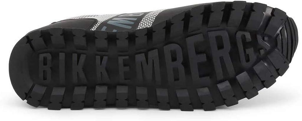 Bikkembergs Fend-ER 2217, Baskets Homme Grigio Grey Black 430