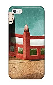 Awesome Spirited Away No Face Studio Ghibli Anime Chihiro Flip Case With Fashion Design For Iphone 5/5s