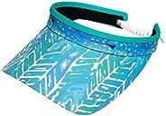 Glove It Coil Visor, Fun Ladies Visor Hat, Sun Visor for Women, Golf Visor with Coil, Visor for Running, Tenni