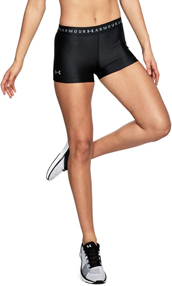 Under Armour Women's HeatGear Armour Shorty Shorts: Clothing