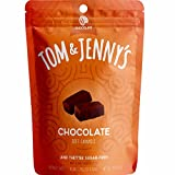 Tom & Jenny's Sugar Free Soft Caramels - Keto Diet - Sweetened with Xylitol and Maltitol (Chocolate Caramel, 1-pack)