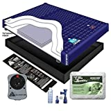 95% WAVELESS WATERBED MATTRESS / LINER / HEATER / PAD / FILL DRAIN / CONDITIONER KIT