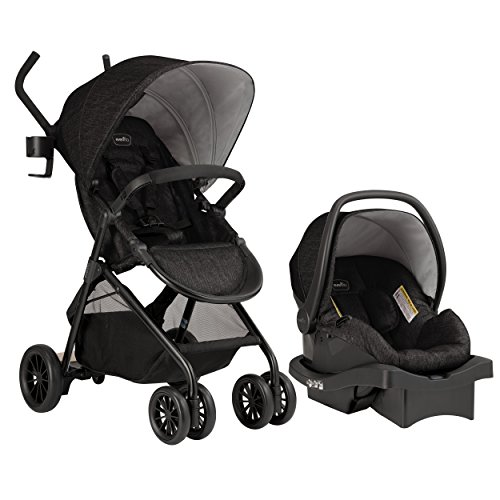 Image of the Evenflo Sibby Travel System, Charcoal