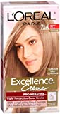 hair dye ash - L'Oréal Paris Excellence Créme Permanent Hair Color, 7.5A Medium Ash Blonde