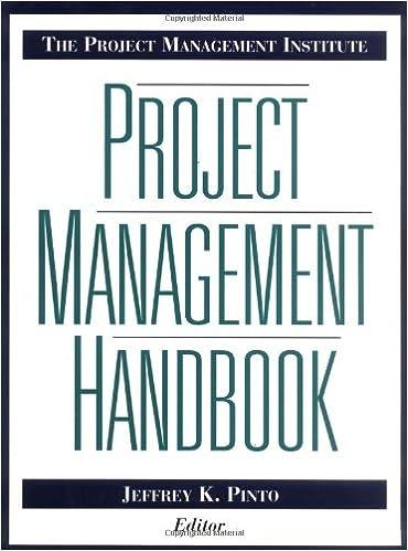 Amazon the project management institute project management the project management institute project management handbook jossey bass business management series 1st edition fandeluxe Images
