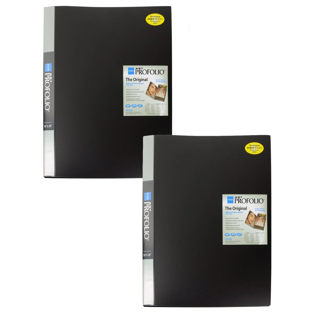 Itoya IA-12-16 Art Profolio 16x20in. Photo 24 Sheet for 48 Pictures (2-Pack) by Itoya of America, Ltd