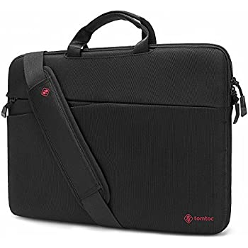 Tomtoc 13 - 13.3 Inch 360° Protective Laptop Shoulder Bag Lightweight Slim Messenger Bag Handbag Briefcase for MacBook Air | MacBook Pro | Surface Book | Surface Laptop | Chromebook | Men | Women