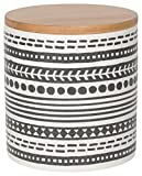 Now Designs Embossed Storage Canister,