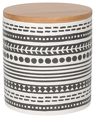 (Now Designs Embossed Storage Canister, Medium, Canyon Design)