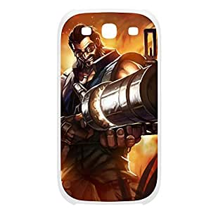 Graves-001 League of Legends LoL case cover Samsung Galaxy Note3 Plastic White