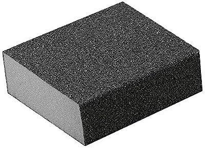 A&H Abrasives 959932, Sanding Accessories, Hand, Sanding Sponge-Coarse Double Slant, 10-pack