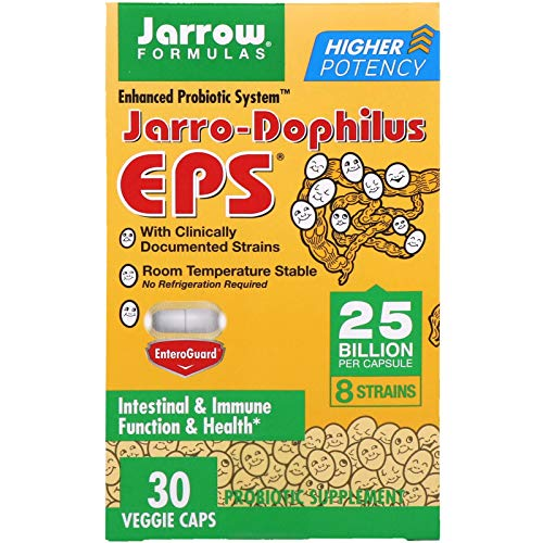 - Jarrow Formulas, Jarro-Dophilus EPS, 25 Billion, 30 Veggie Caps