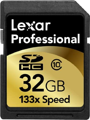 Lexar 8GB Secure Digital Professional 133x 20MB//s SD Memory Card