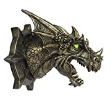 Dragon Dungeon Wall Plaque With LED Eyes
