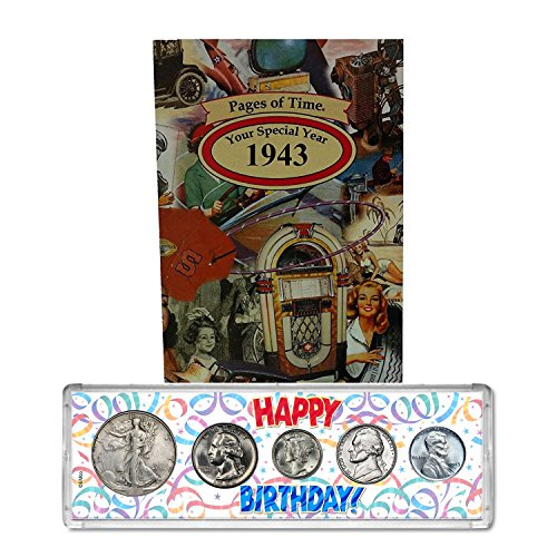 1943 Year Coin Set and Greeting Card :