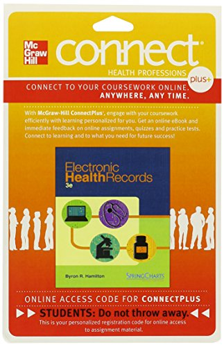 Connect Record Card - Connect 2-SemesterAccess Card for Electronic Health Records