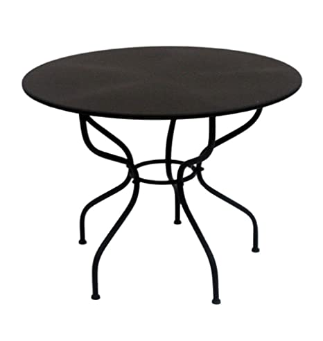 milanari Hierro mesa redonda de jardín mesa Mara ssini ...