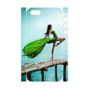 Ballet CHA6101816 3D Art Print Design Phone Back Case Customized Hard Shell Protection Iphone 5,5S