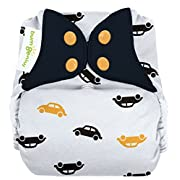 bumGenius Freetime All-in-One One-Size Snap Closure Cloth Diaper (Faster)