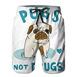 Pug Not Drugs Lightweight 2017 New Style Men Sport Running Pants