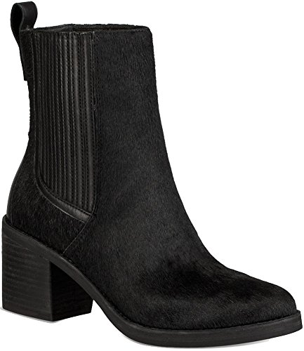UGG Womens Camden Exotic Chelsea Boot Black Size 7.5