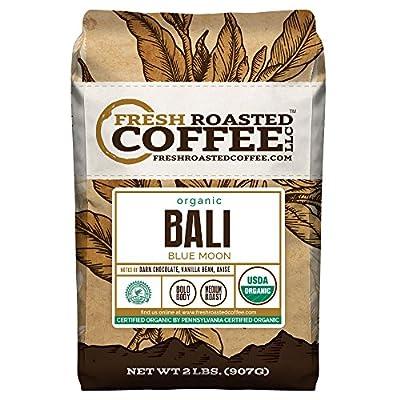 Bali Blue Moon Organic, Rain Forest Alliance Coffee, Fresh Roasted Coffee LLC. by Fresh Roasted Coffee LLC.