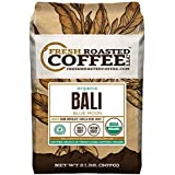 Bali Blue Moon Organic, Rain Forest Alliance, Whole Bean coffee, Fresh Roasted Coffee LLC. (2 lb.)