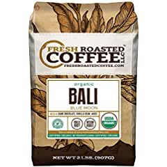 Fresh Roasted Coffee Bali Blue Moon Organic