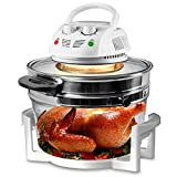Nutrichef PKAIRFR48.5 Air Fryer, Infrared Convection, Halogen Oven...