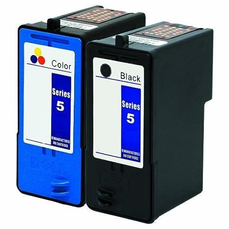 Cartucho Tinta Impresora 2-Pack Brand Remanufacturado Dell ...