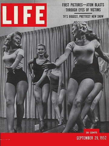 Original Life Magazine from September 29, 1952 - Jackie Gleason