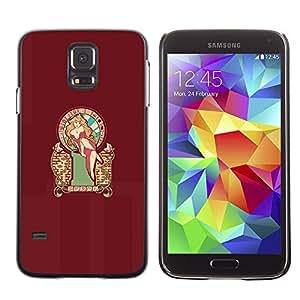 Stuss Case / Funda Carcasa protectora - Sexy Pin Up Mari0 Princess Peach - Samsung Galaxy S5