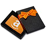 Amazon.ca $50 Gift Card in a Black Gift Box (Amazon Icons Card Design)