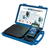 Uniweld 53650 Electronic Refrigerant Charging Scale, -0.2 oz/ 10 g or +/-0.5oz/20 g at 176 lbs
