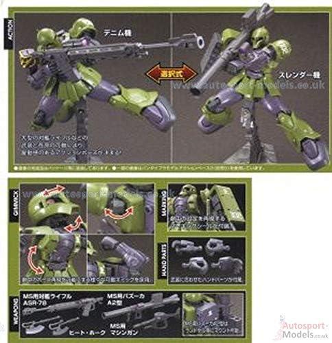 Plastic Model Denim//Slender Custom HG Mobile Suit Gundam THE ORIGIN 1//144 Zaku I