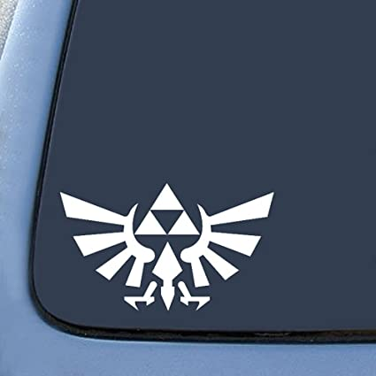 Amazon Triforce Logo Wings Symbol Sticker Decal Notebook Car
